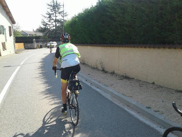 Le parcours suivi au mètre près par Patrick et sa montre GPS.