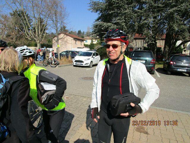 Chassieu (69) Premières pédalées  Samedi 23 février 2019