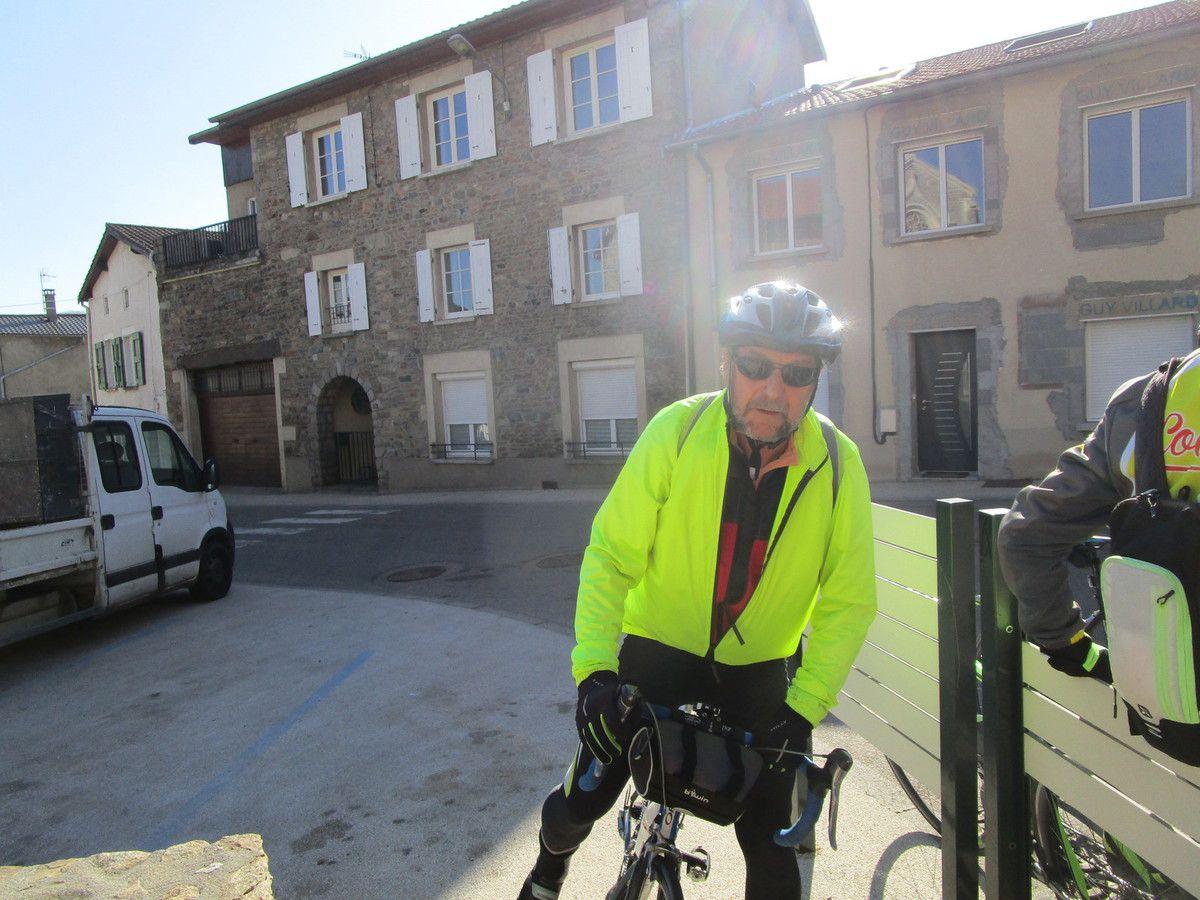 Rive de Gier  -Col de la Gachet -Mercredi 27 février 2019