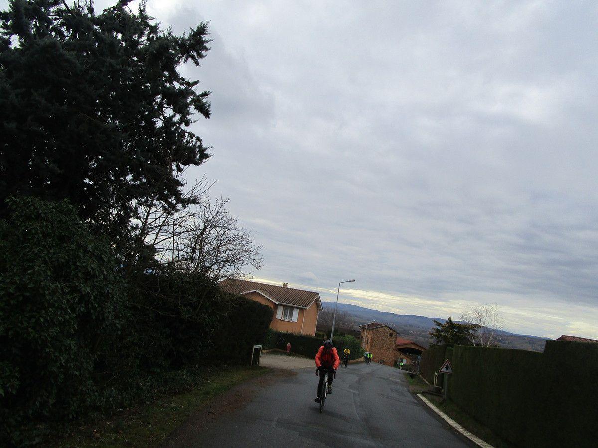 Chasselay -Randonneurs  et P2 de choc -Vendredi 8 mars 2019
