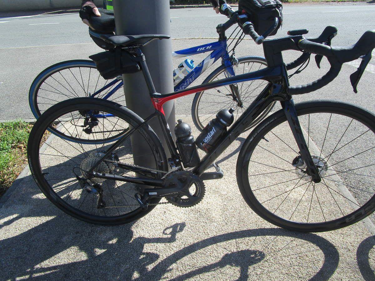 Alain et son vélo tout neuf