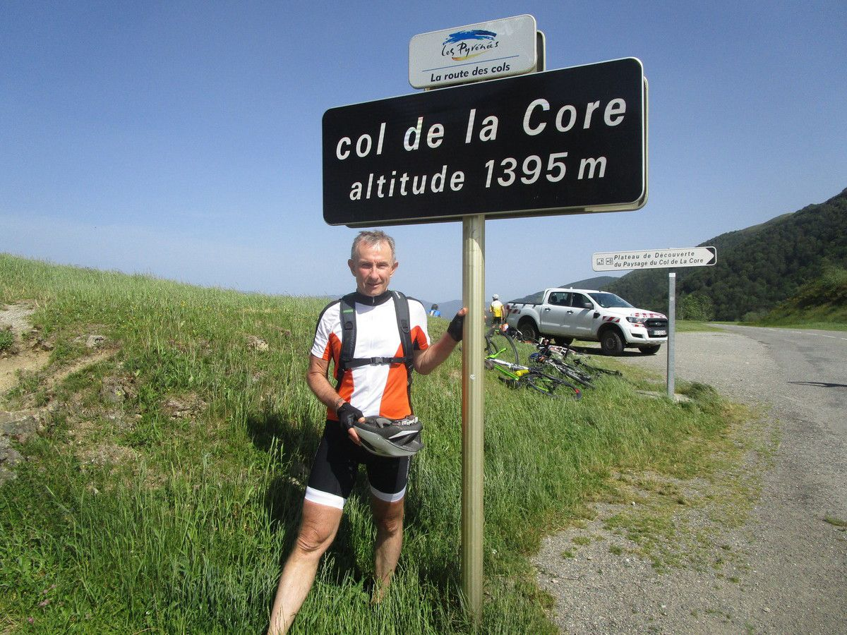 Séjour Pyrénées (Suite)- Mercredi 26 Juin- Cols de la Core et de Port