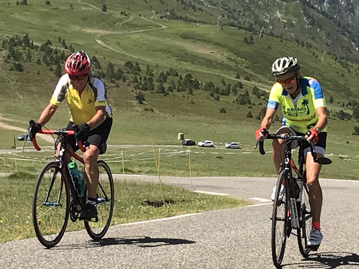 Séjour Pyrénées - J6 -  Jeudi 27 juin Tarascon/ Ariège(09)>Les Angles (66)