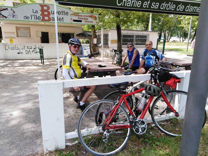 Loire sur Rhône-Voie Verte -Mardi 25 juin 2019