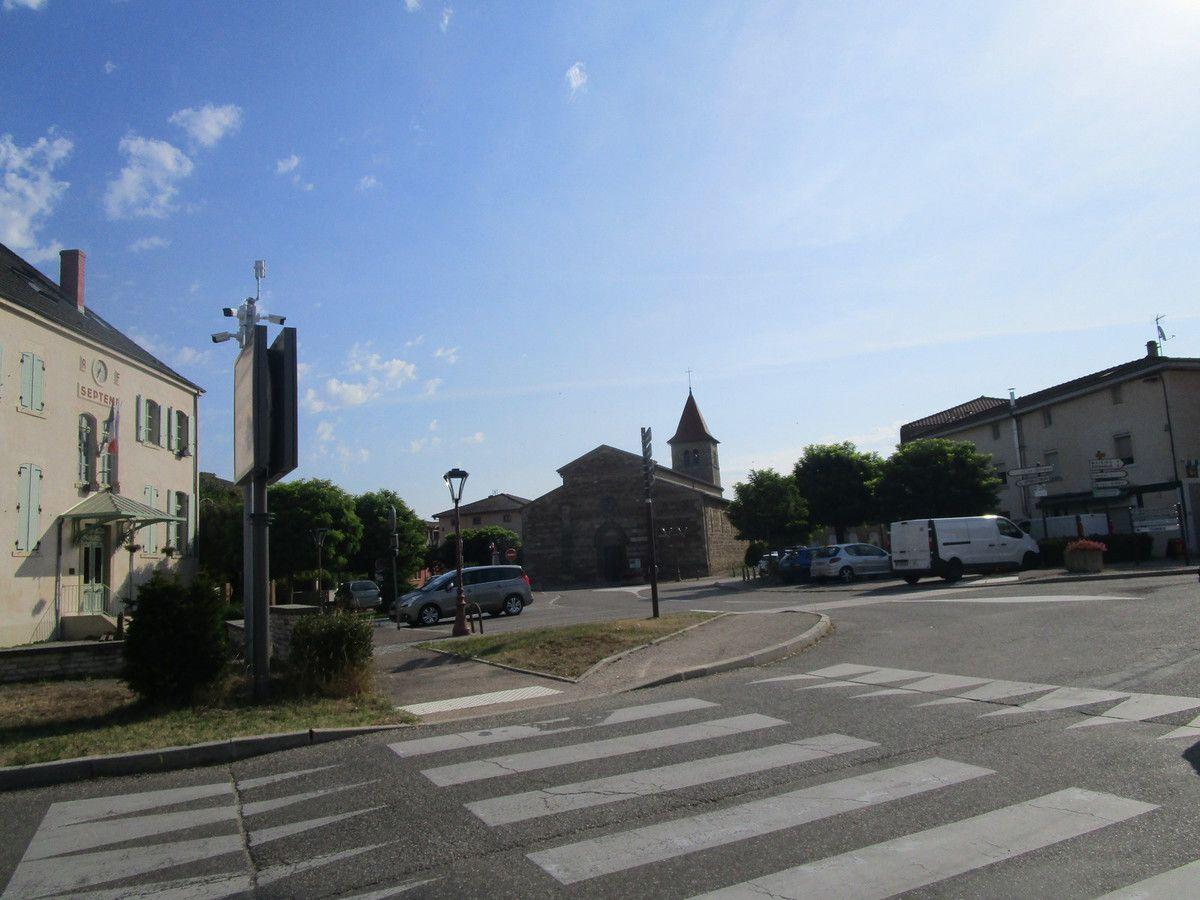 St Symphorien d'Ozon-- P1-- Lundi 5 Aout 2019