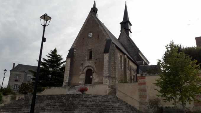 Chateau et église de Francueil