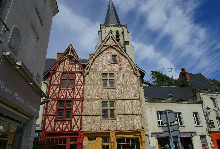 Le donjon construit par Richard Coeur de Lion