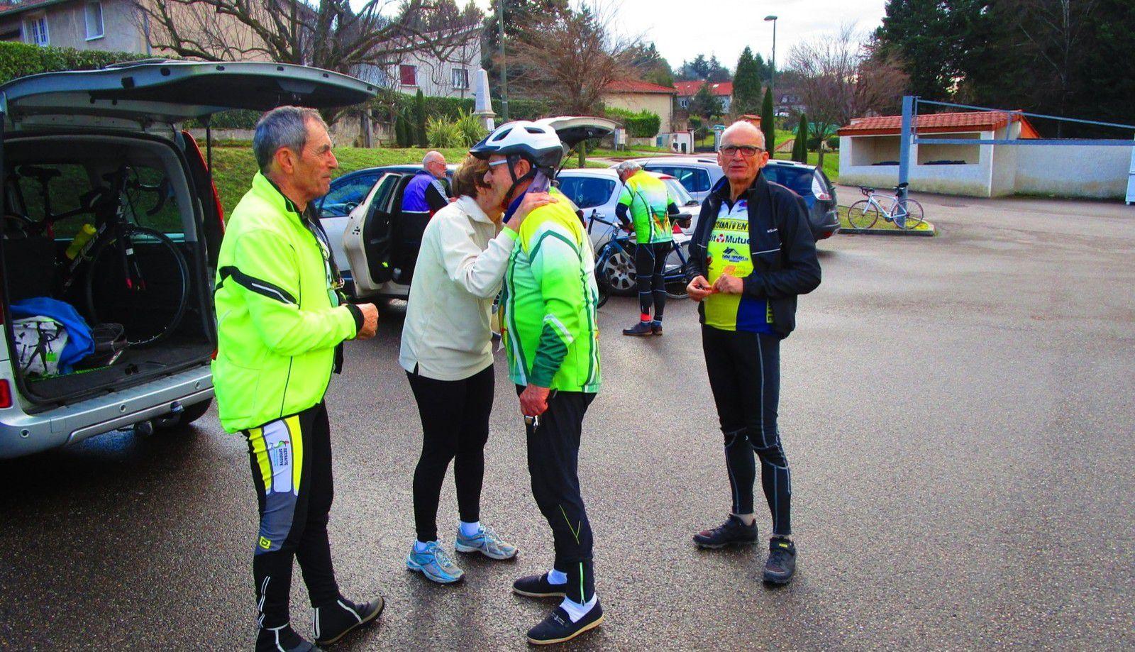 Marennes (69) Découverte - Vendredi  31 Janvier 2020