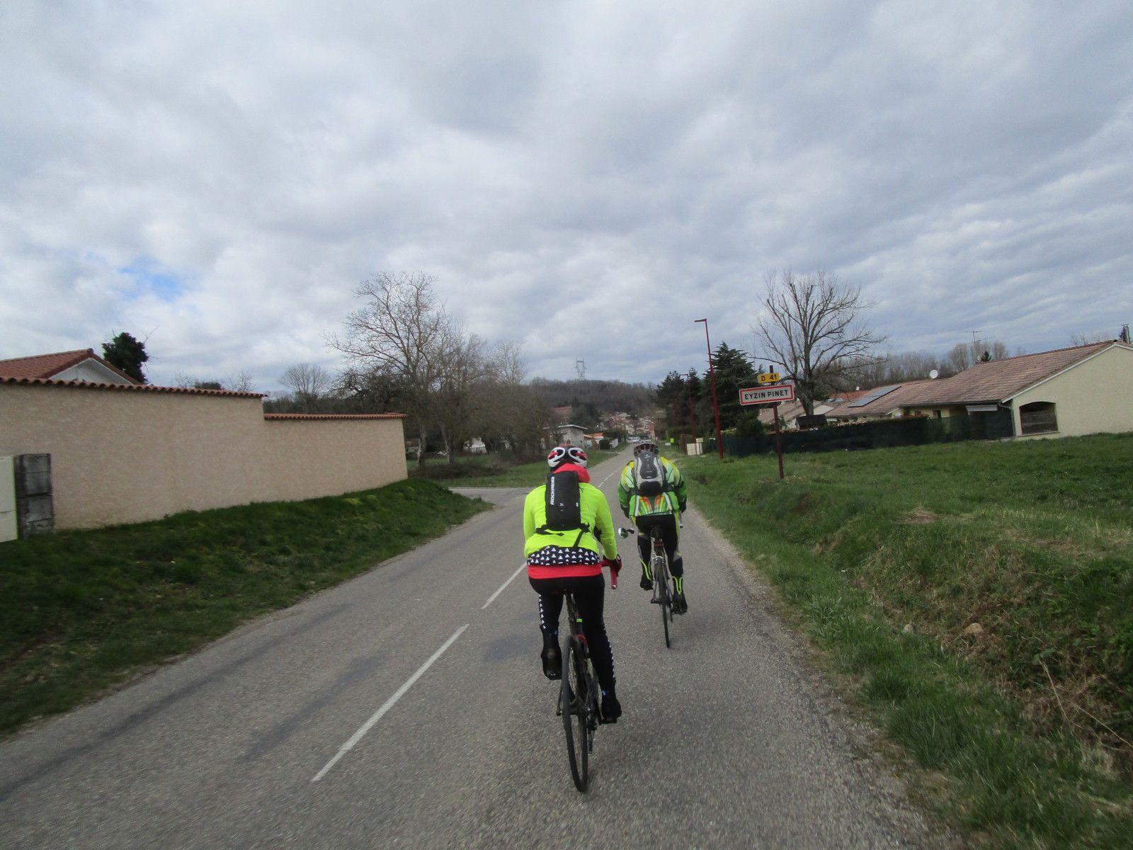 Chaponnay -  Randonneurs - Vendredi 6 Mars 2020