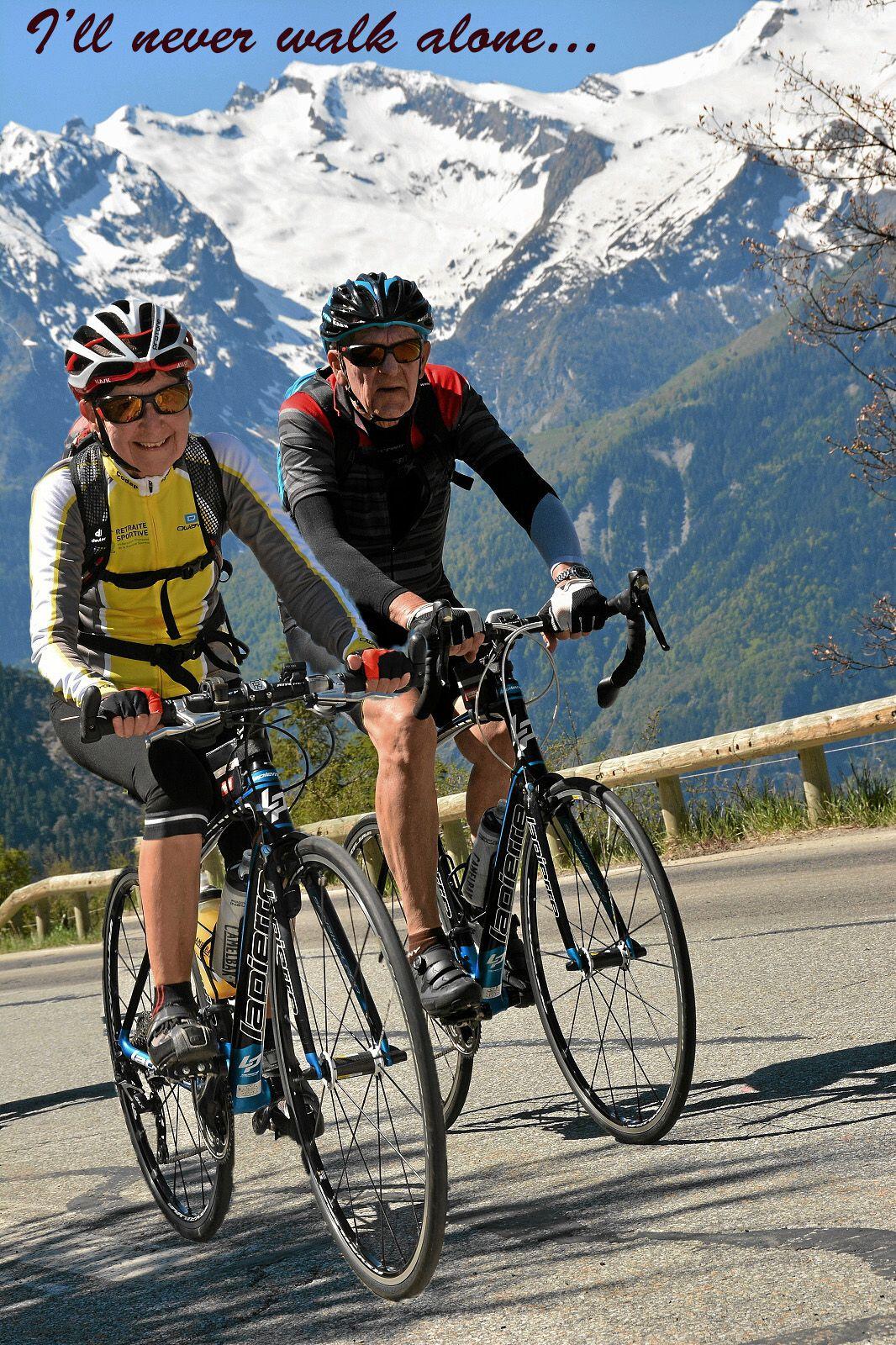 Jean Didier et Rolande inséparables et en grandes ascensions comme ils les aiment