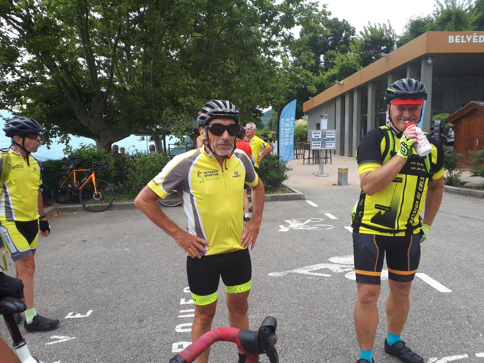 Yenne (73) - Tour du lac D'Aix les Bains -- Mardi 21 Juillet 2020