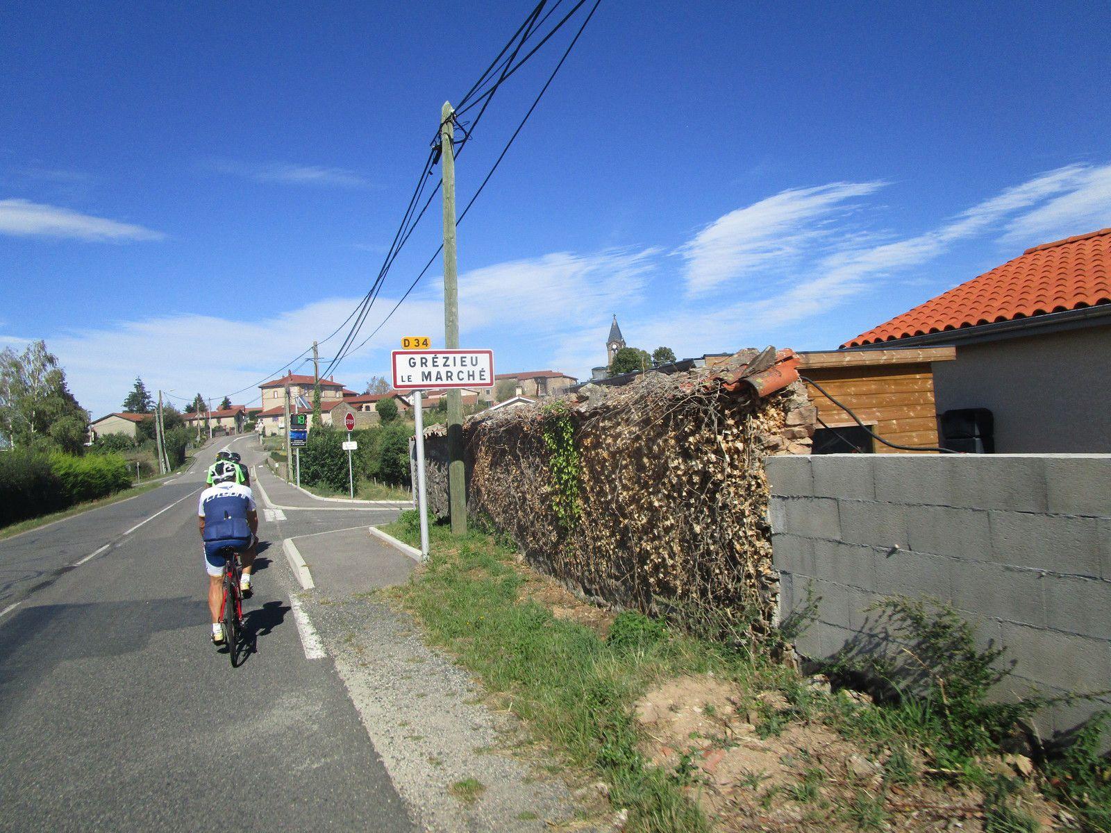 Aubusson d'Auvergne>>Messimy  Le Retour Jeudi 27 Aout 2020
