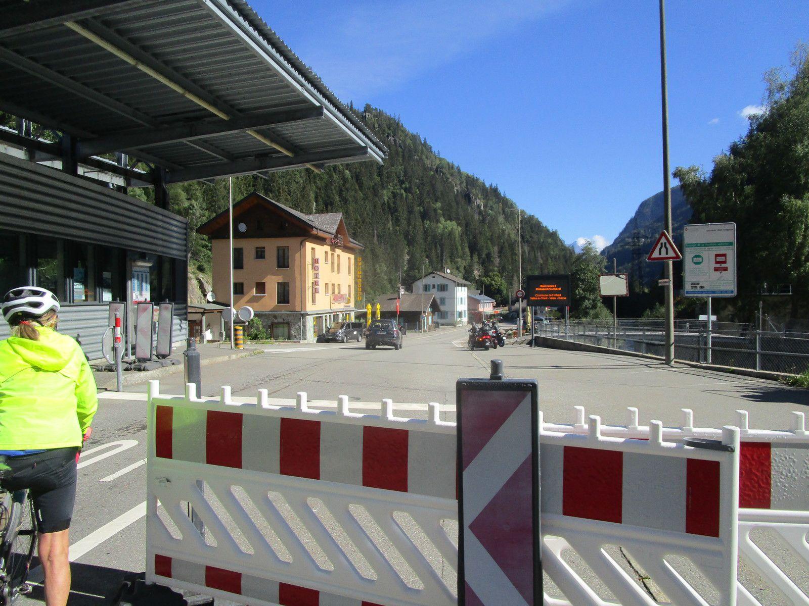 Barrage d'Emosson(Suisse)  Jeudi 3 Septembre