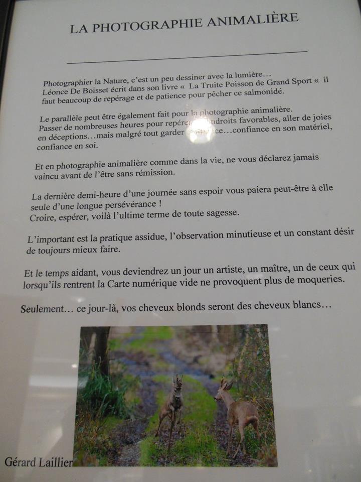 """Merci à Jean-Pierre TELLIER pour ses articles de presse dans le """" Maine Libre """""""