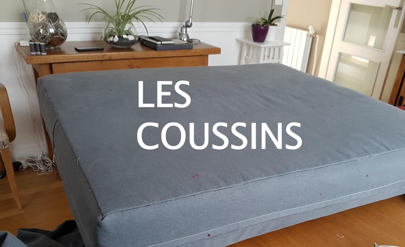Canapé Qui S Affaisse Solution réfection d'un canapé tapissier - etape 1 - les coussins