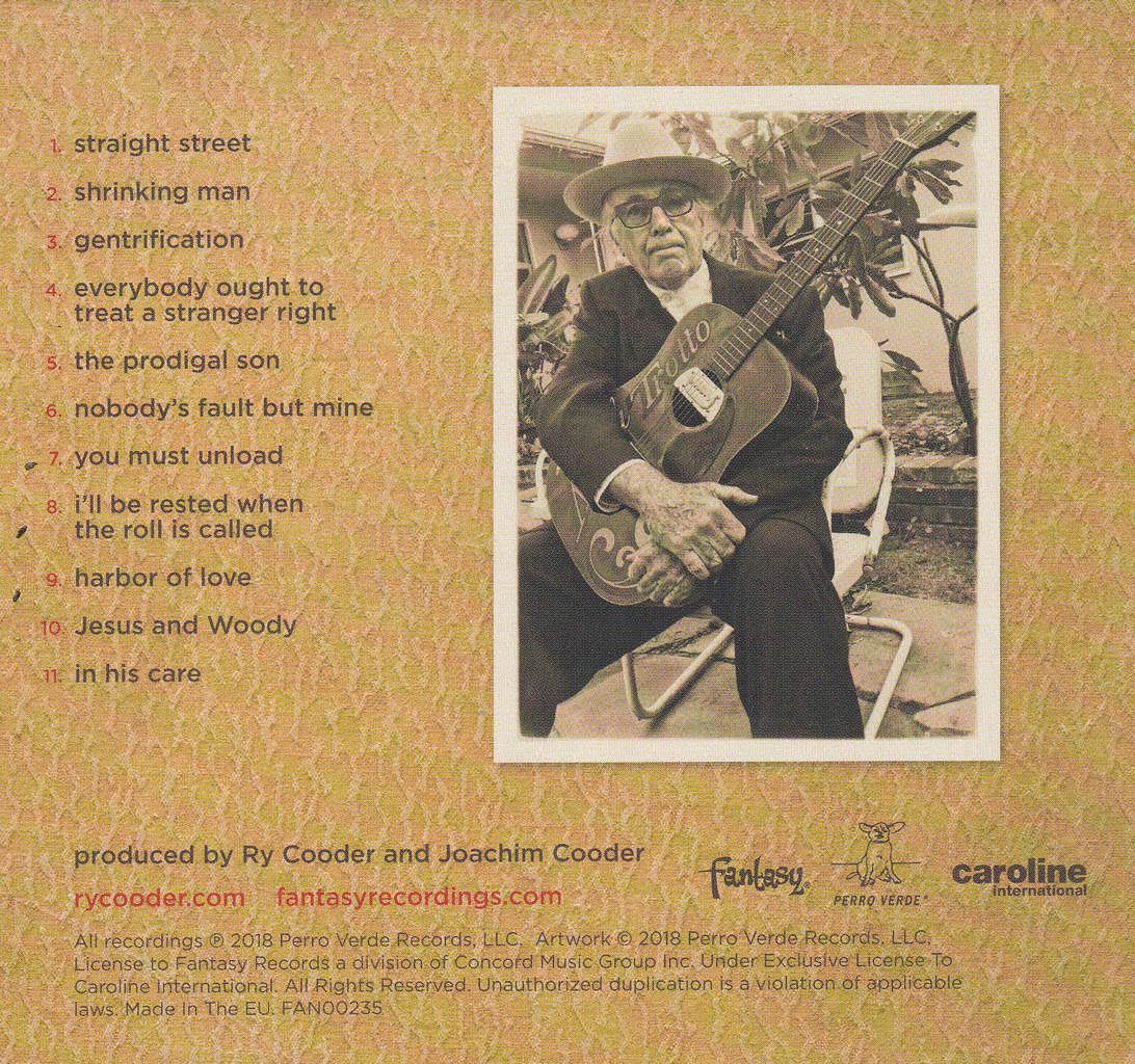 """Ry Cooder  """"the prodigal son"""""""