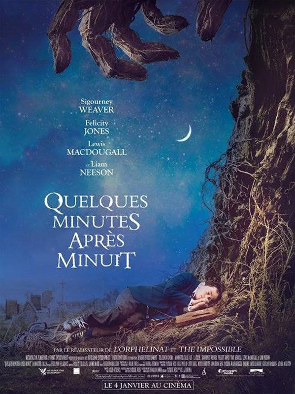 QUELQUES MINUTES APRES MINUIT (A Monsters Calls)
