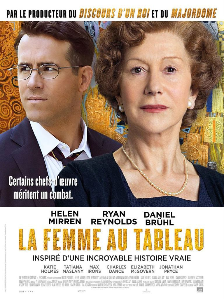 LA FEMME AU TABLEAU (Woman in Gold)