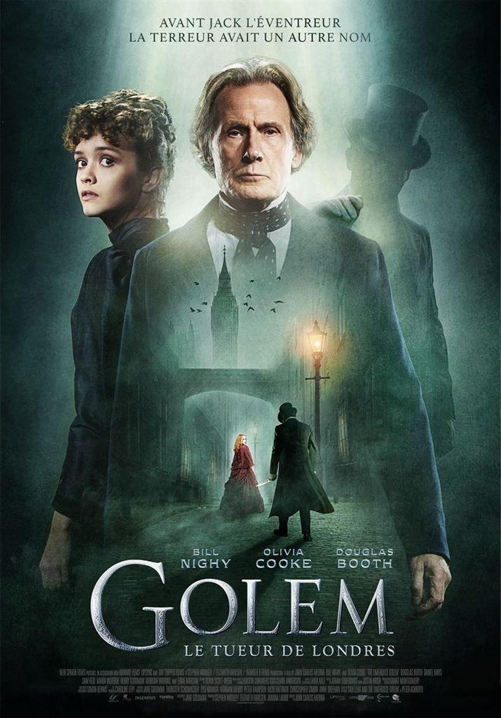 GOLEM : LE TUEUR DE LONDRES (The Limehouse Golem)