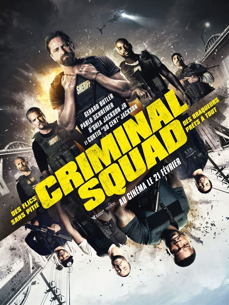 CRIMINAL SQUAD (Den of thieves)