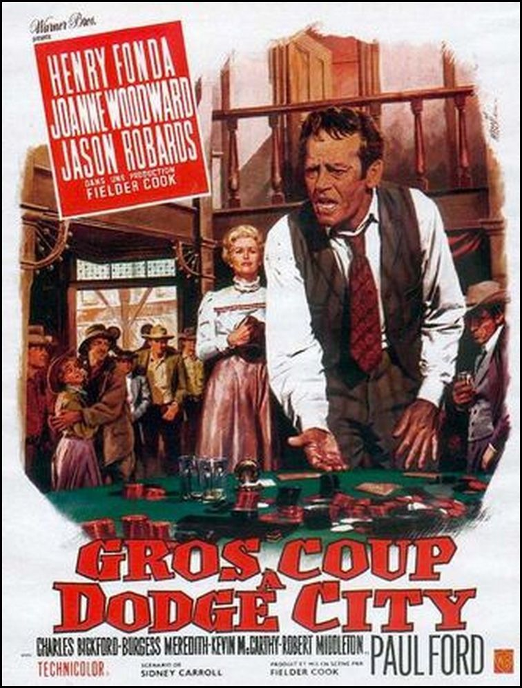 GROS COUP A DODGE CITY (Big hand for the little lady)