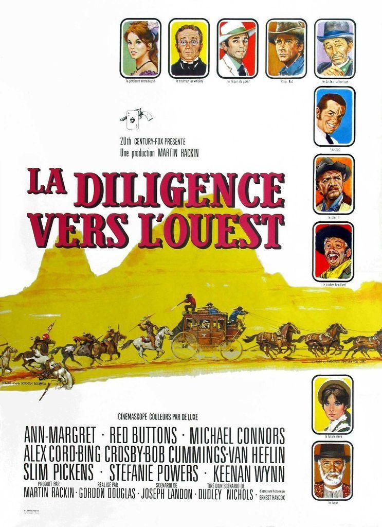 LA DILIGENCE VERS L'OUEST (Stagecoach)