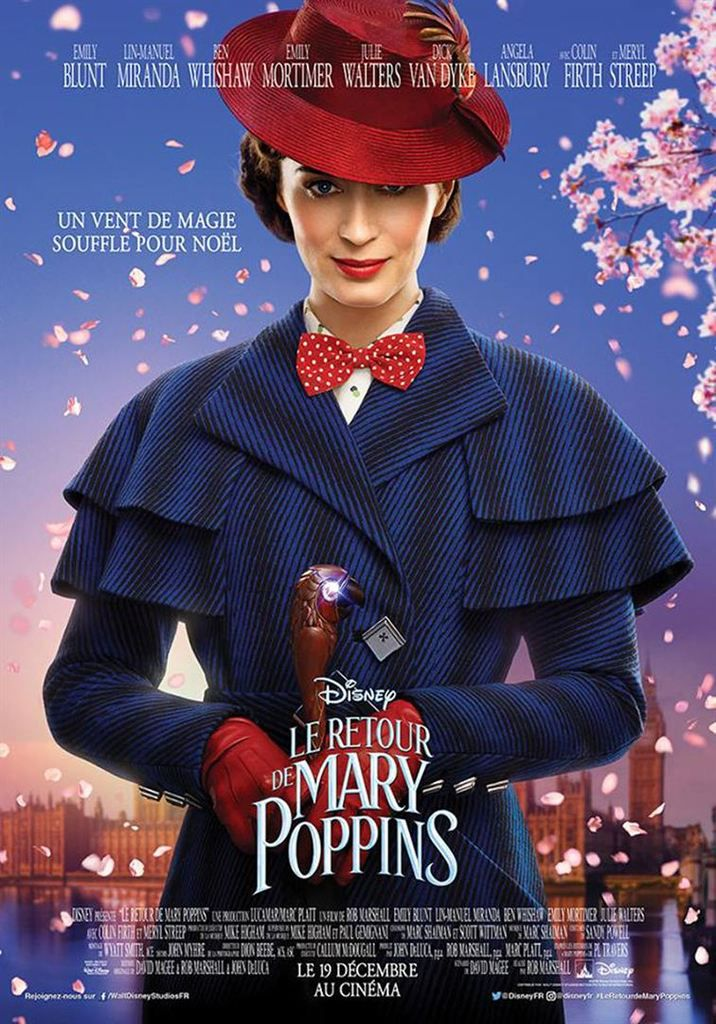 LE RETOUR DE MARY POPPINS (Mary Poppins returns)