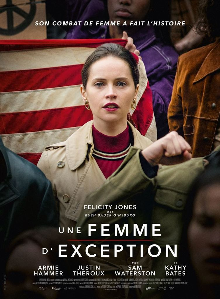 UNE FEMME D'EXCEPTION (On the basis of sex)