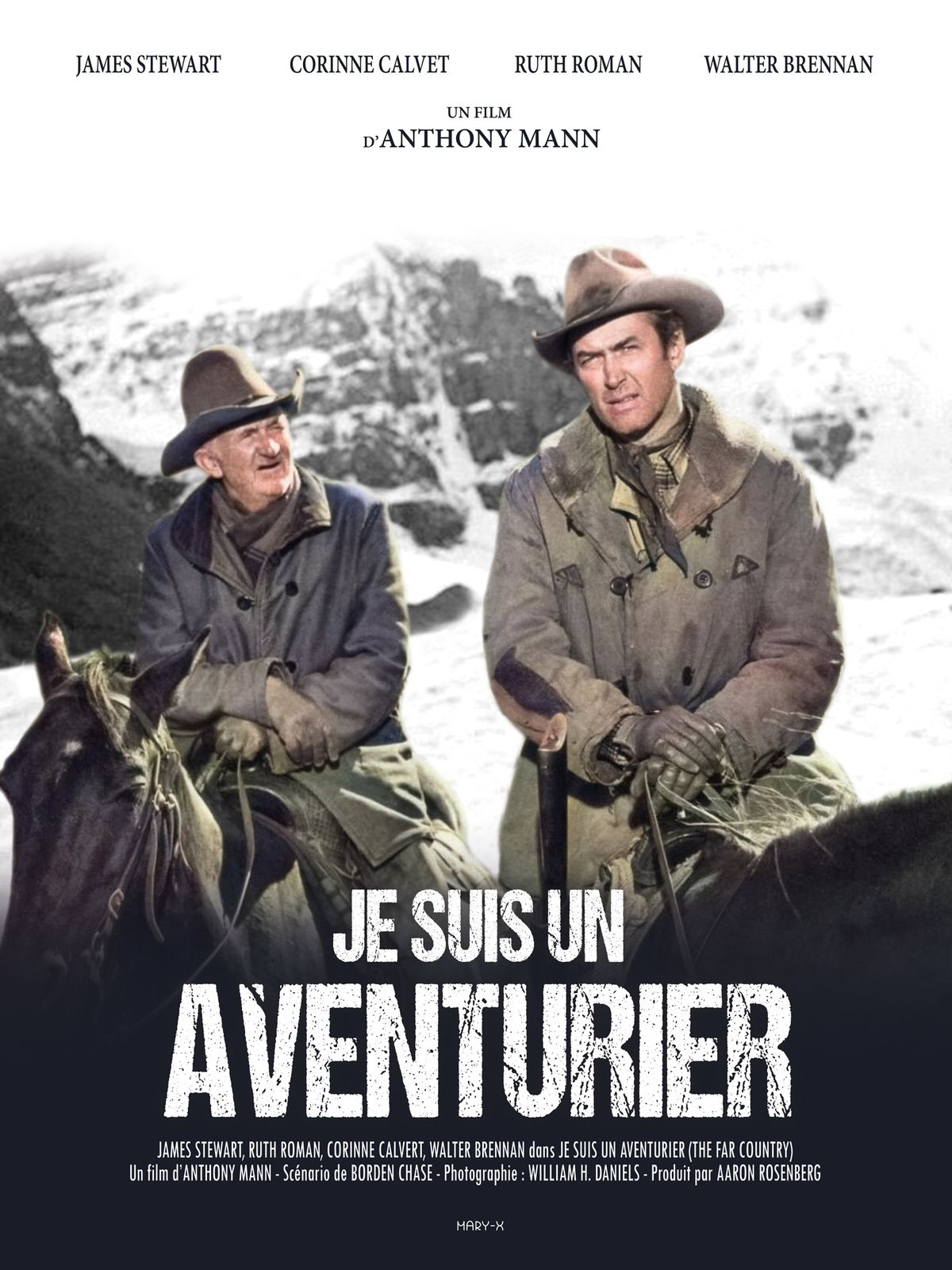 JE SUIS UN AVENTURIER (The far country)