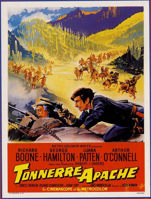 TONNERRE APACHE (A thunder of drums)