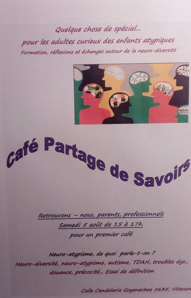 Quelque chose de spécial...groupe autour de la neurodiversité, Premier café-rencontre aujourd'hui