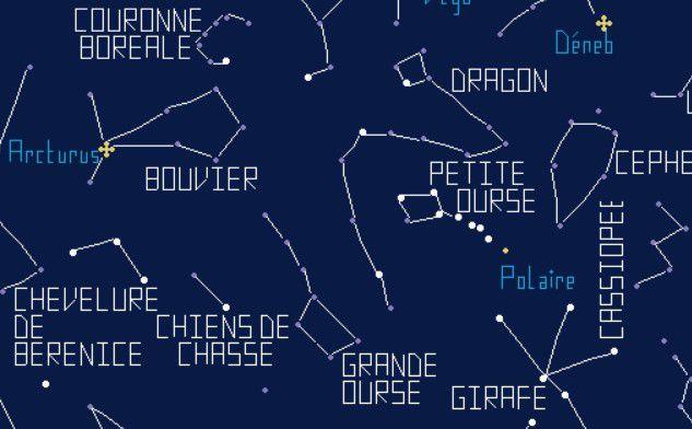 Le nez dans les étoiles