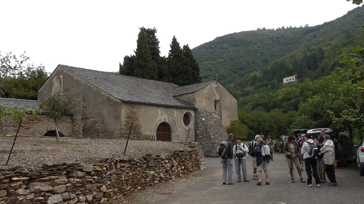 Un peu frisquet près de la chapelle de Rieussec, mais les Dieux sont avec nous... Il va faire splendide!