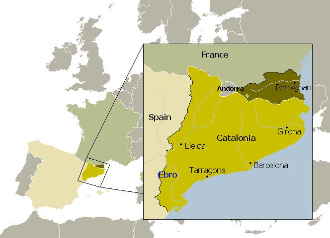 Partition de la Catalogne