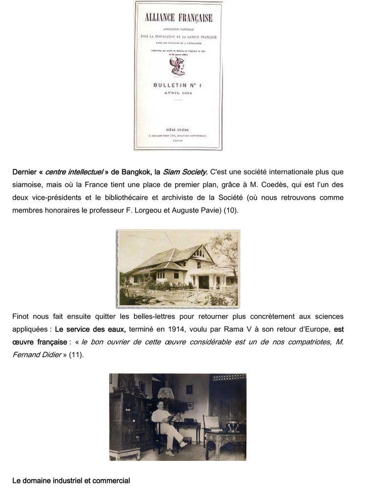 174. La vision  du Siam de l'érudit Louis Finot en 1924.