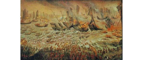 RH 12 -  LA REPRÉSENTATION  DU TERRITOIRE DU ROYAUME DE SUKHOTAI DURANT LE RÈGNE DU ROI RAMKHAMHAENG (1278-1317).