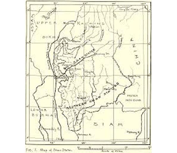 RH 13 - LE ROYAUME MÔN D'HANTAWADDY FONDÉ EN 1287, UN NOUVEAU VASSAL DU ROI DE SUKHOTAI RAMKHAMHAENG (1278-1317).