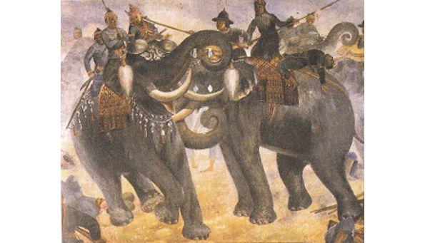 RH 20 - APRÈS LE FONDATEUR DU ROYAUME D'AYUTTHAYA, RAMATHIBODI Ier (1351-1369), LE ROI RAMESUAN (1369-1370), ET LE ROI BOROMACHA Ier (1370-1388)
