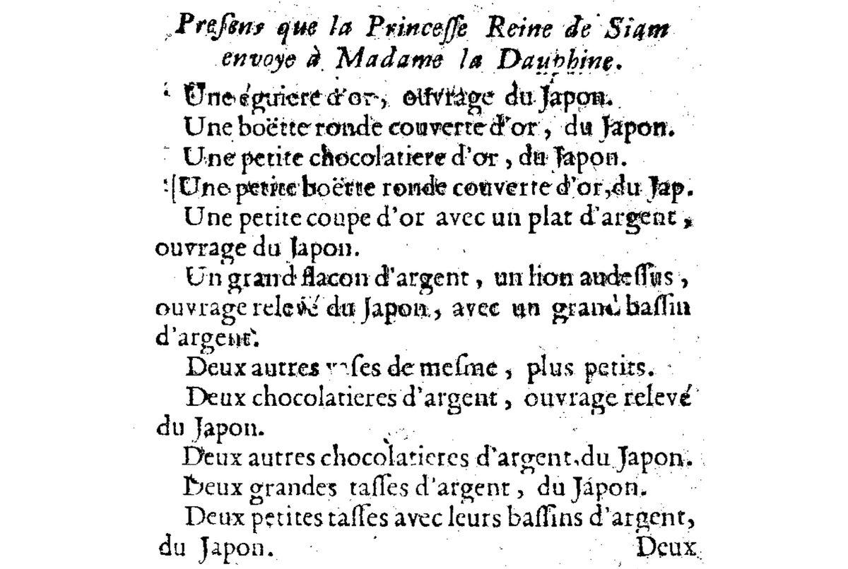H12- LA PRINCESSE YOTHATHEP (1656-1735), UNE INTRIGANTE « MESSALINE » À LA COUR D'AYUTTHAYA ?