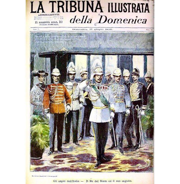 A 245 - LES PEINTRES ET LES SCULPTEURS ITALIENS AU SIAM SOUS RAMA V ET RAMA VI.