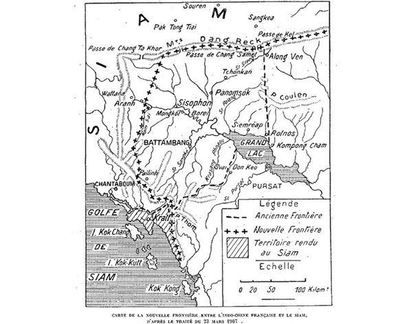 H 18 – 12 JANVIER 1905 : LA FIN DE L'OCCUPATION FRANÇAISE  À CHANTHABURI