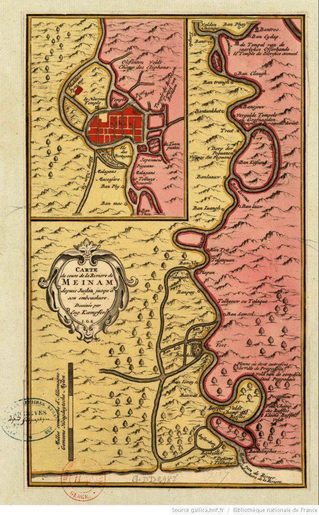 Carte de Kaempfer