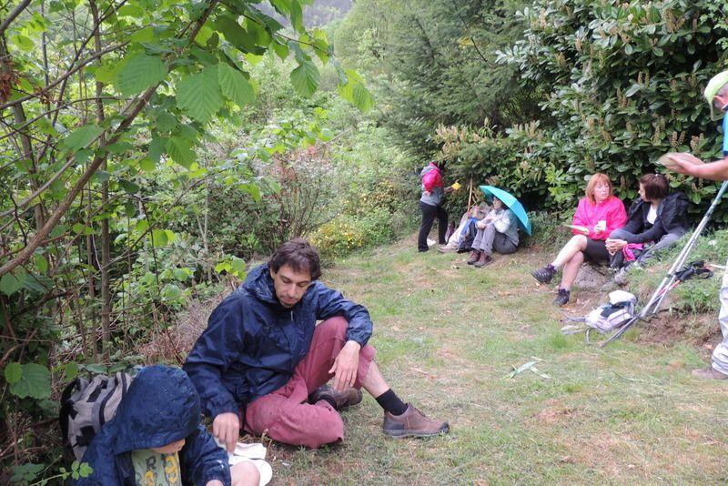 Des participants enchantés, malgré la pluie !