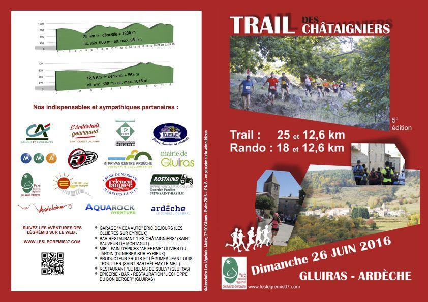 Trail des Châtaigniers 2016