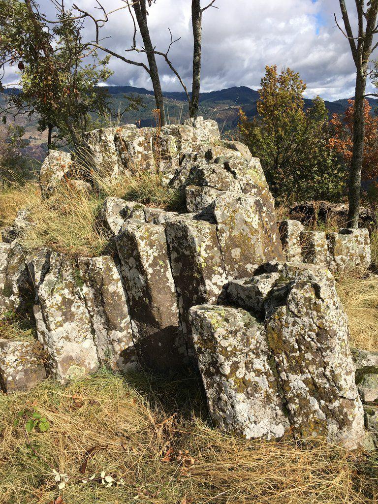 Balade des ruines du château de Brion