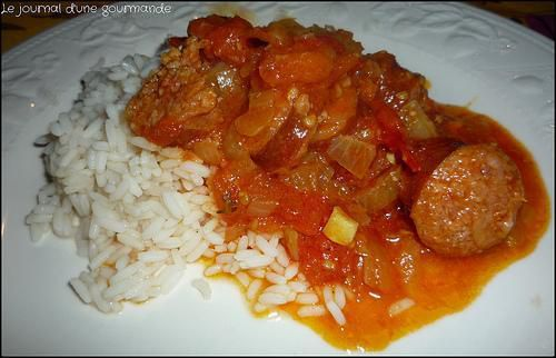 Rougail saucisses (Cookeo)