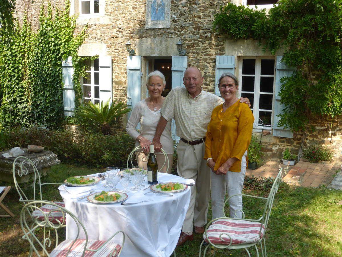 avec mon mari et Adèle - Photos Edmée de Xhavée