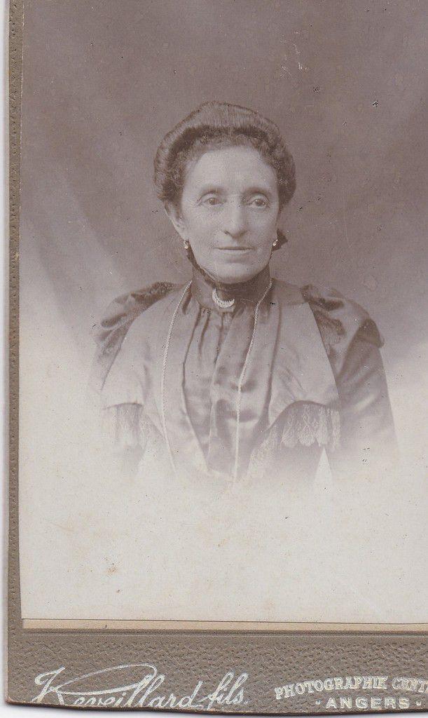 Anaïse Teisseire, épouse Giraud, mère de Marie-Louise.