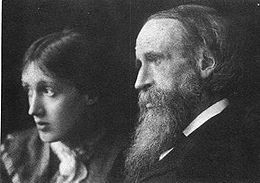 Virginia Woolf et son père