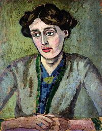 Virginia Woolf peinte par Roger Fry